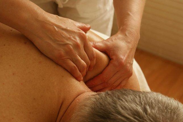 Массаж для остеохондроз,боль в спине