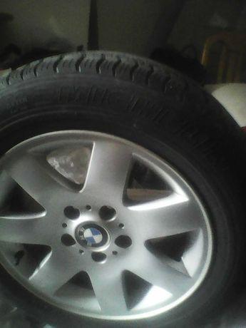 диски BMW c шиной michelin 215х55х16 оригинал в отличном состояний