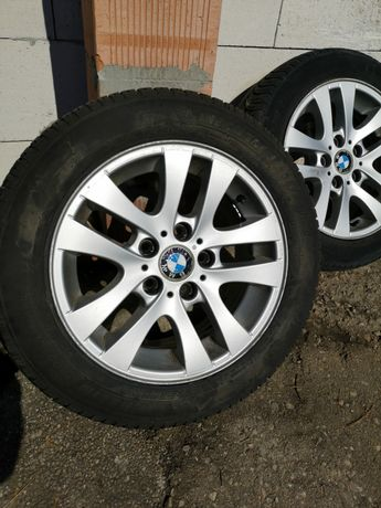 Jante bmw 16 style 156 5×120,anvelope michelin
