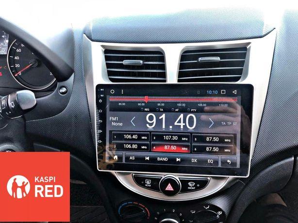 Автомагнитола на Андроид для Toyota/Hyundai RedPower/DSK Петропавловск