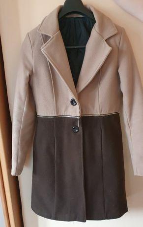 Дамско бежово/кафяво палто
