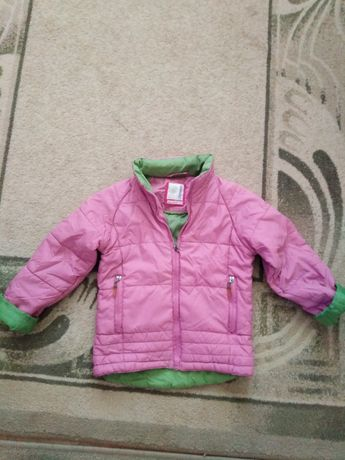 Детско яке за момиче, за 2-3 годинки.