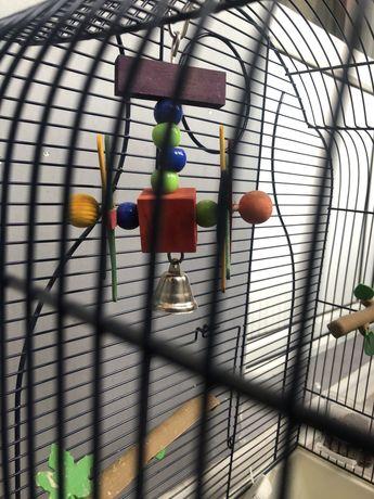 Клетка для попугая - новая