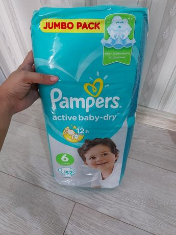 Pampers active baby 6