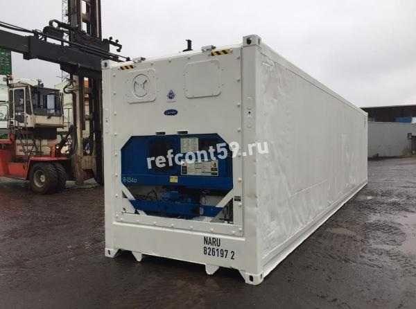 Рефконтейнер 40 фут Carrier / рефрижератор из Нур-Султана №1972