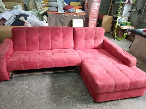 Реставрация мягкой мебели. Перетяжка мебели. Диван. Кровать. Пуфик