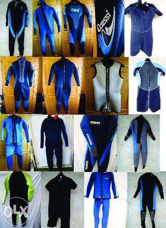 SE VAND SEPARAT Vand 17 costume Neopren Scuba diving diferite marimi