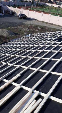 Montaj acoperișuri dulgherii mansardari firmă autorizată
