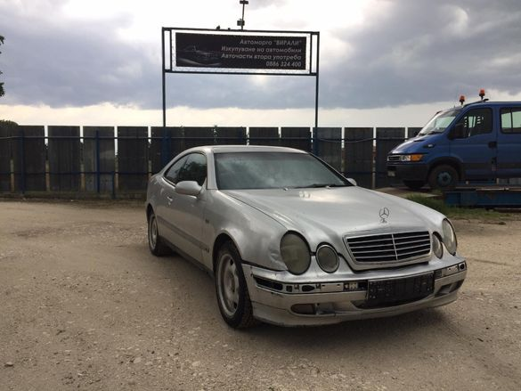 Mercedes-Benz CLK 200 136к.с на части