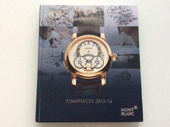 Montblanc каталог на часовници