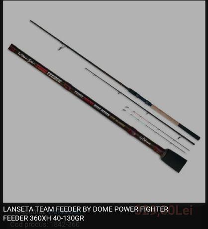 Lanseta Team Feeder By Dome Power Fighter 360XH 40-130gr
