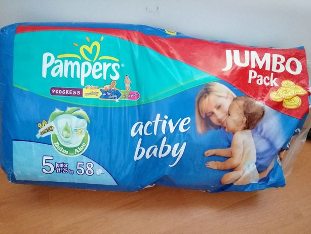 Scutecele Pampers Active Baby 11-25 kg 58 buc