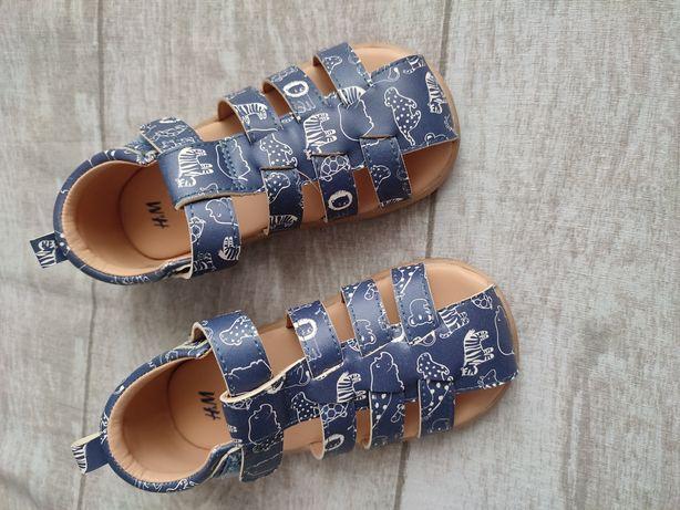 Sandale băiat H&M, măsura 24 (15,2 cm interior)