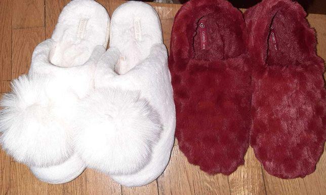 papuci de casa pufosi si caldurosi Oysho
