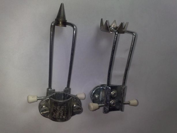 Dispozitiv antialunecare ptr.carje,bastoane,gheara sau cui,rabatabil.