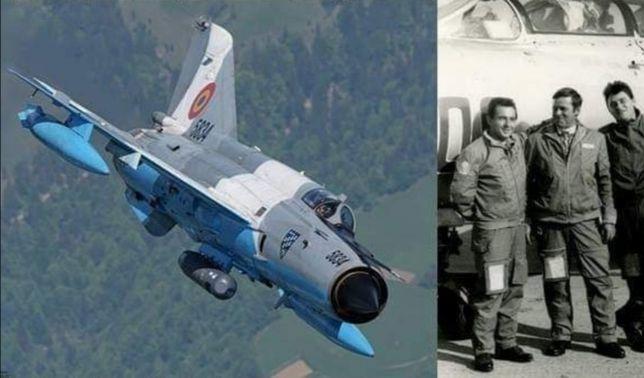 Costum aviație RSR iarna pilot avion vanatoare MIG perioada comunista