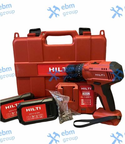 Акумулаторен Ударен Винтоверт ХИЛТИ / HILTI 24V 8Ah 2 Батерии