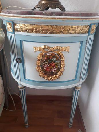 comoda/mobila PICTATA vintage/antic,Italia,baroc venetian,lemn