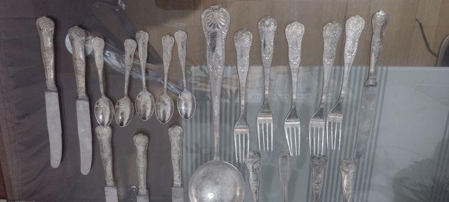 Set tacamuri de bucătărie posibil argint