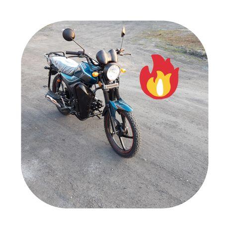 Мотоцикл мопед Альфа Kometa 49.5 (110) кубов.