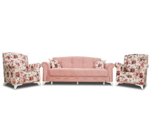 Set canapea extensibila cu lada