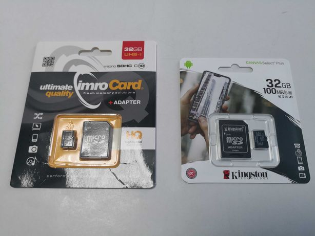 Card de memorie microSDHC 32 GB sigilat