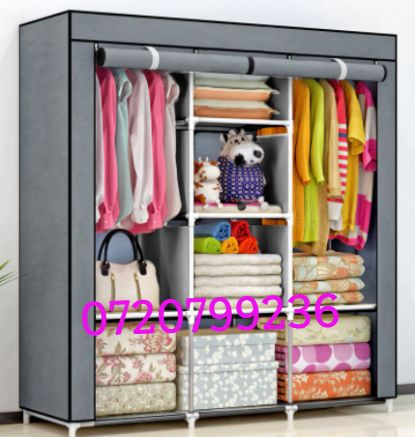 Sifonier textil umerase+rafturi ,diferite culori