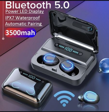 Casti wireless bluetooth Hi-Fi deep bass sound