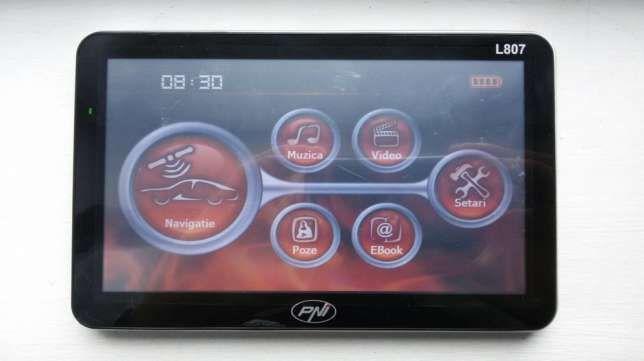 "GPS PNI - Ecran 7"" - 256 ram, 8GB (program navigatie, poligoane, adr)"