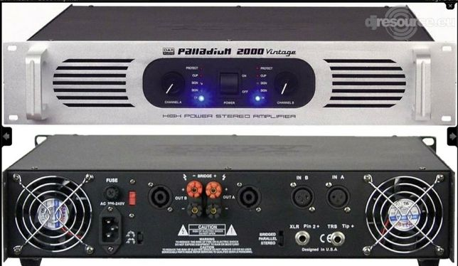 Dap audio palladium 2000 amplificator