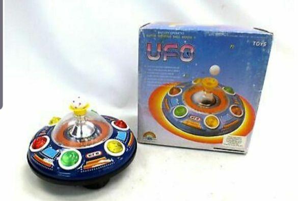 Стара играчка НЛО 1970 година.Окончателна цена.