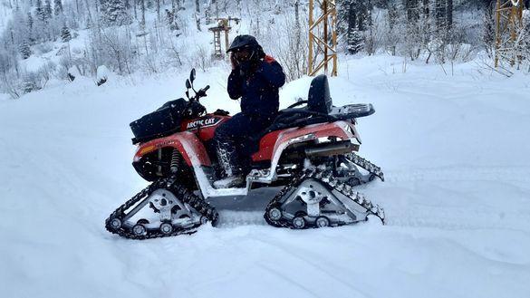 Arctic cat snowtrack 1000cc