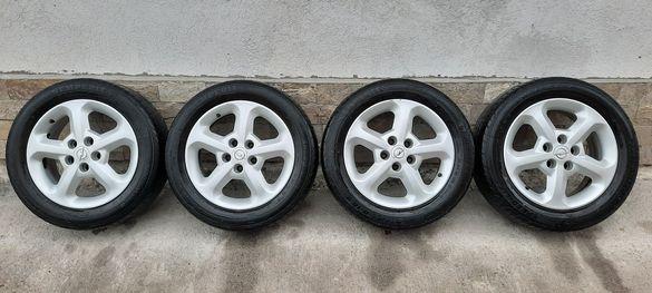 Джанти GM , 16цола , 5х110 , 6j , et44 , 205/55/16 Opel , Alfa Romeo
