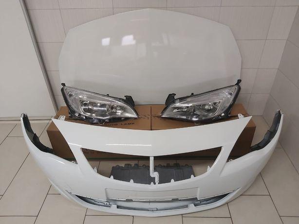 Pachet Bara+Far+Capota Fata Motor Opel Astra J 2009-2012 GAZ-Alb