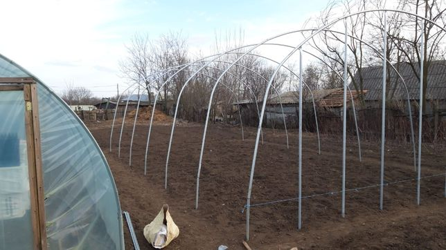 Structura solarii zincate 6m deschidere