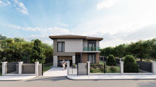 Casa individuala | 180 mp utili | 500 mp teren | Popesti