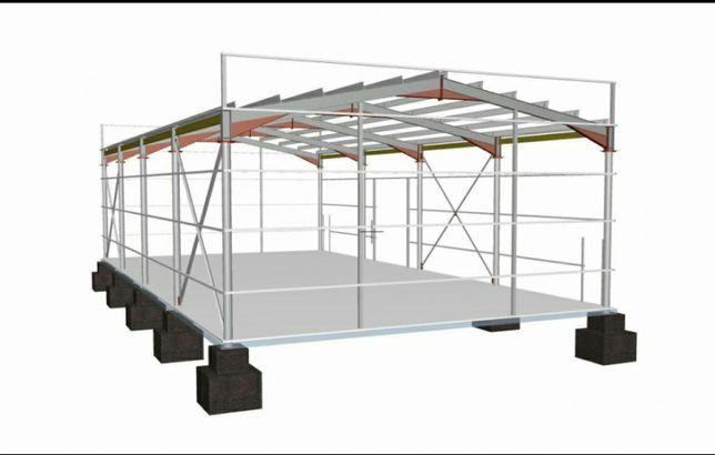 Vand structura metalică hale si ferme