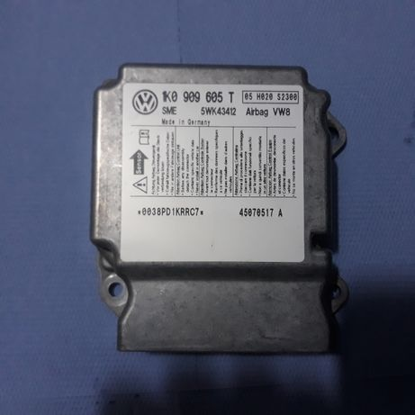 Calculator airbag volkswagen vw golf 5 cod 1k0909605t