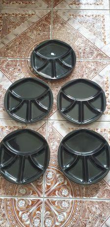 5 fondue farfurii sushi