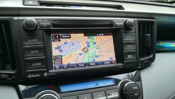 Gen8/Gen9 US Toyota Lexus EU Map 2021 год. Micro SD Card Европа Турция