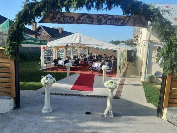 Închiriere corturi nunta botez petreceri în aer liber