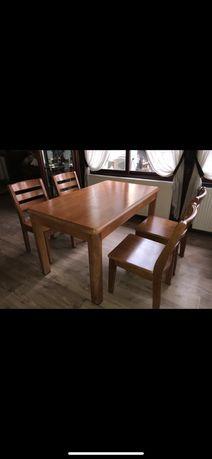 Комплект маса с 6 стола