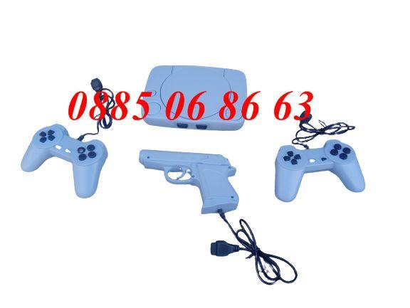 2 модела телевизионна ретро игра с 620 игри два джоистика + пистолет