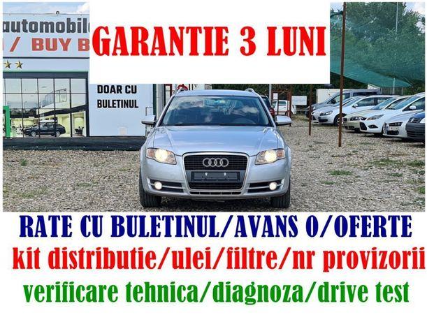 Audi A4 2,0diesel/automata/RATE cu BULETINUL/AVANS 0/Livrare gratuita/GARANTIE