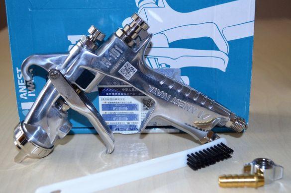 Anest Iwata W-101 - Професионален бояджийски пистолет