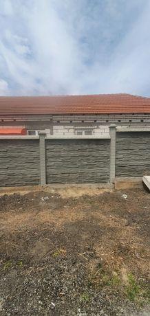 Gard beton vibropresat