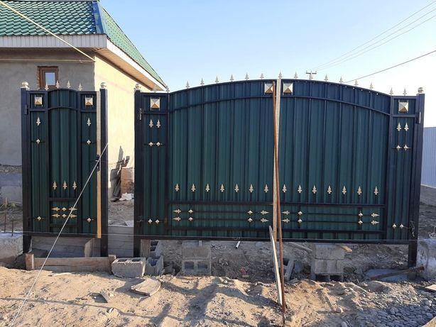 Ворота и заборы на заказ