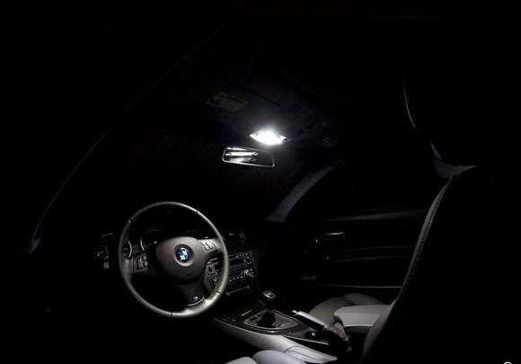 Комплект LED диодно интериорно осветление за BMW / БМВ 1-ва серия E82