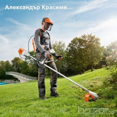 Косене и почистване на тревни площи и дворове