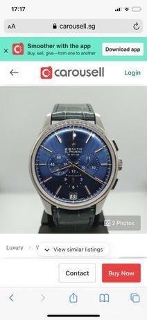 продам часы zenith el primero за 1млн 100тысяч тг!
